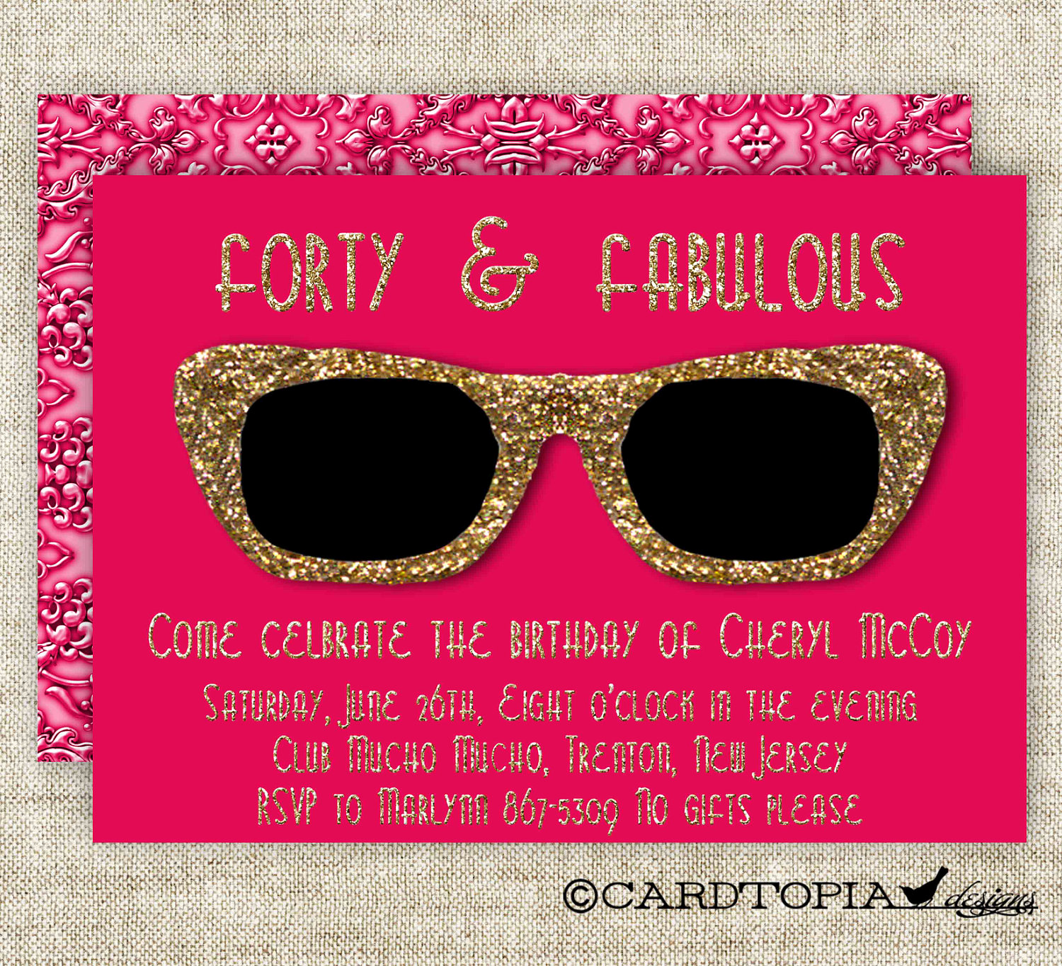 Golden Birthday Invitation Wording Beautiful Golden Birthday Party Invitations for Adult Woman or Girl