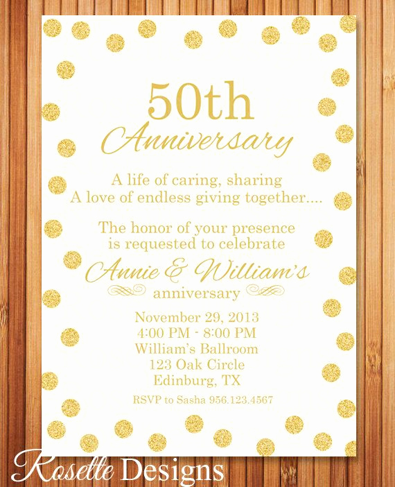 Golden Birthday Invitation Wording Best Of 25 Best Ideas About 50th Anniversary Invitations On