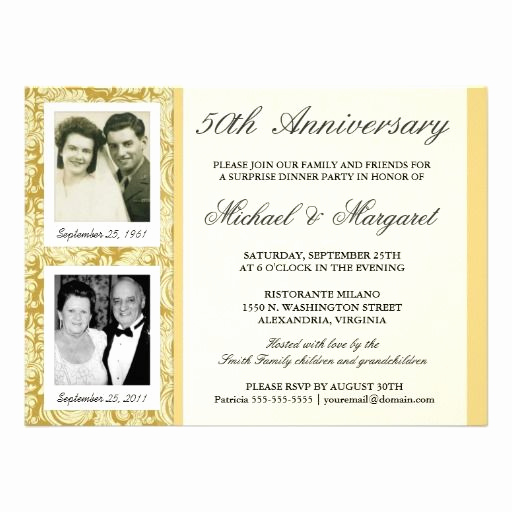 Golden Birthday Invitation Wording Luxury Best 25 50th Anniversary Invitations Ideas On Pinterest