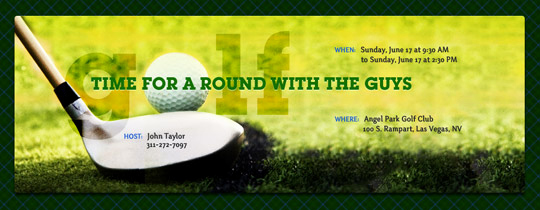 Golf Invitation Template Free Best Of Golf Free Online Invitations