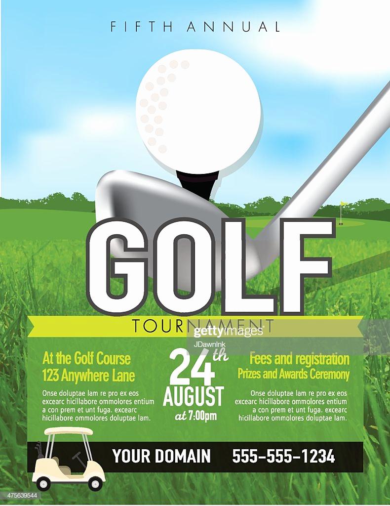 Golf Invitation Template Free Fresh Golf tournament with Golf Tee Club Invitation Template