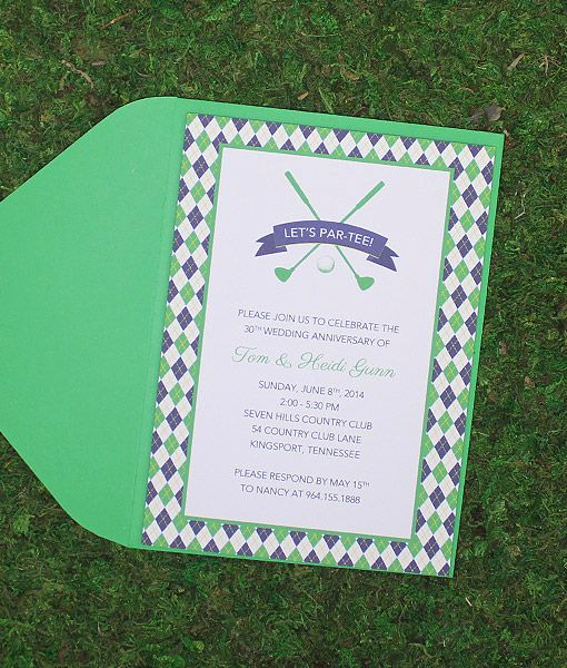 Golf Invitation Template Free New Golf Clubs Invitation Template In 2019