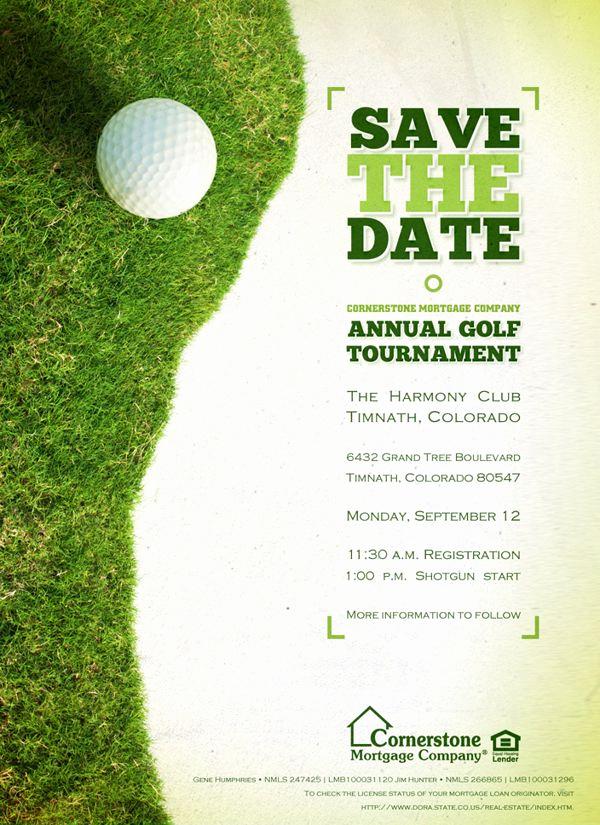 Golf Invitation Template Free Unique Golf Design Design