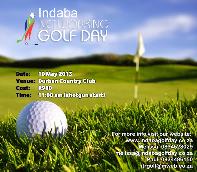 Golf Invitation Template Free Unique Umhlanga Life Indaba Networking Golf Day News On