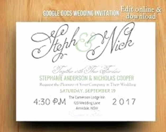 Google Doc Invitation Template Awesome Great Google Docs Invitation Templates Collection
