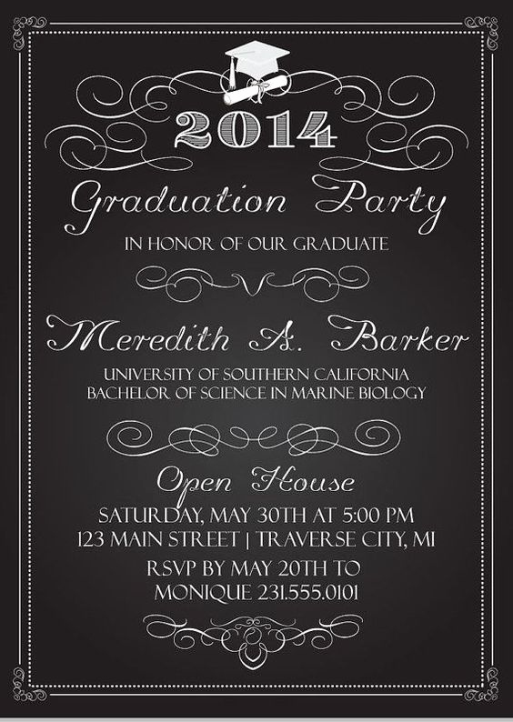 Google Doc Invitation Template Best Of High School Graduation Invitation Templates Google
