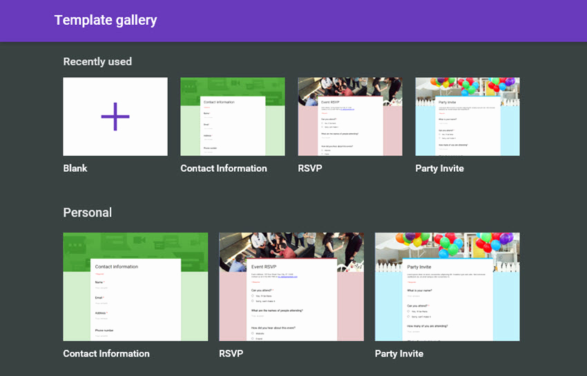 Google Doc Invitation Template Lovely How to Make A Survey with Google Docs forms Codeholder