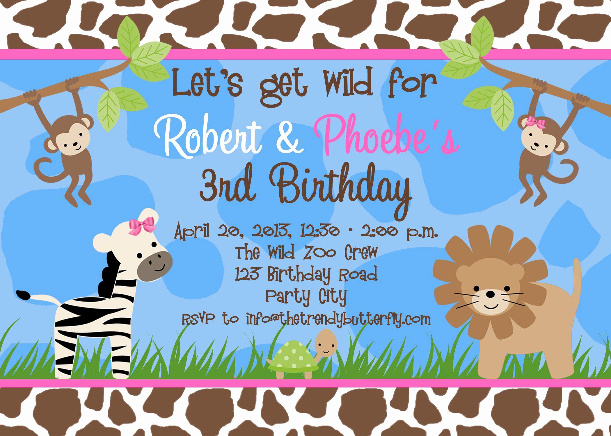 Google Doc Invitation Template Luxury Birthday Party Invitation Template Birthday Party