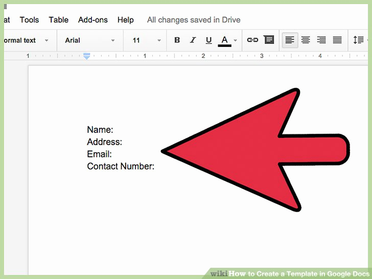 Google Docs Invitation Template Fresh How to Create A Template In Google Docs 13 Steps with