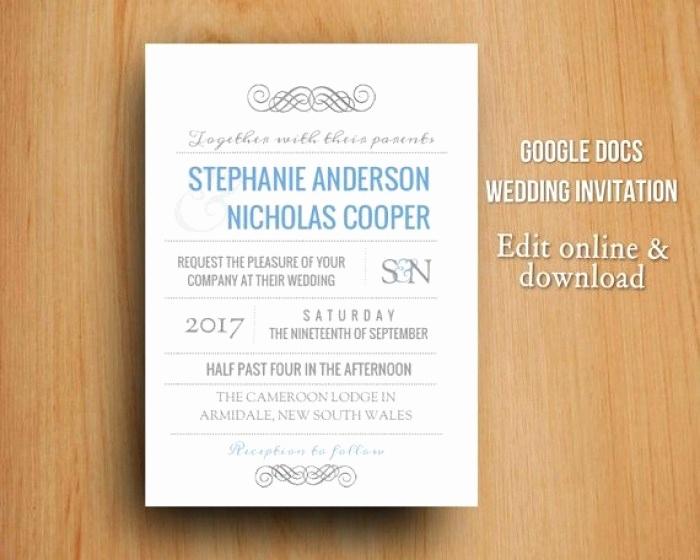 Google Docs Invitation Template Inspirational Cool Invitation Templates Google Docs Mericahotel