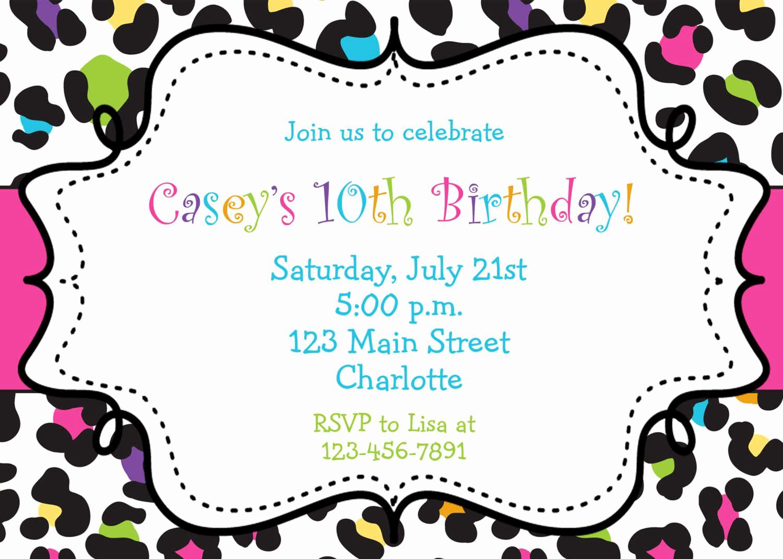 Google Docs Invitation Template Lovely Birthday Party Invitation Template Birthday Party