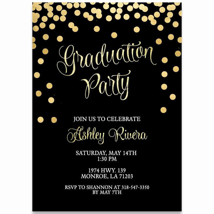 Grad Party Invitation Ideas Inspirational 27 Best Graduation Party Invitations Images On Pinterest