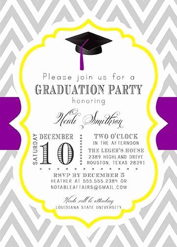 Grad Party Invitation Ideas Unique Printable Graduation Party Senior College Graduation
