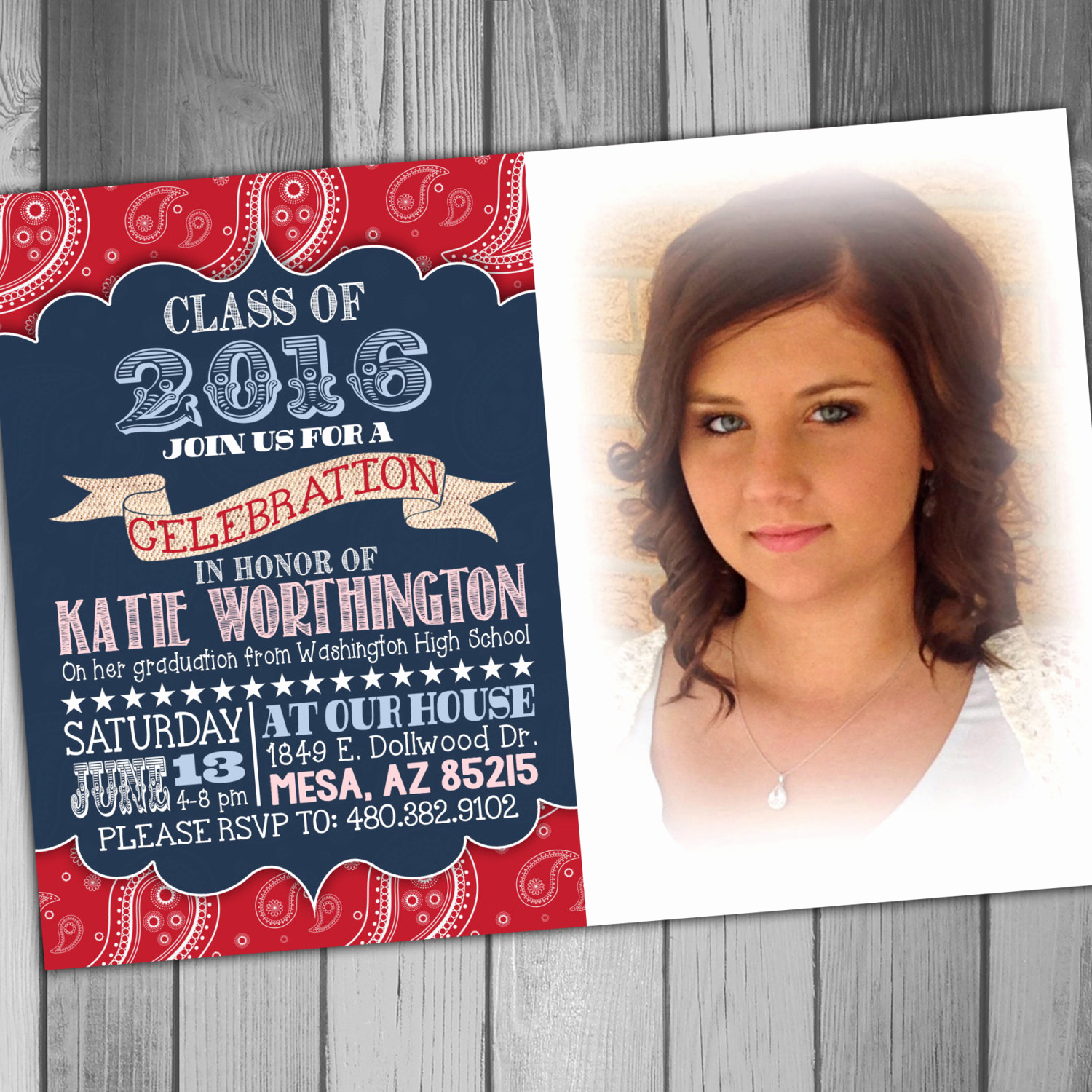 Graduation Announcement and Party Invitation Beautiful High School Graduation Party Invitation College Graduation