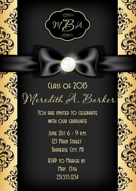 Graduation Announcement and Party Invitation Fresh 96 Best Graduation Invitations Images On Pinterest