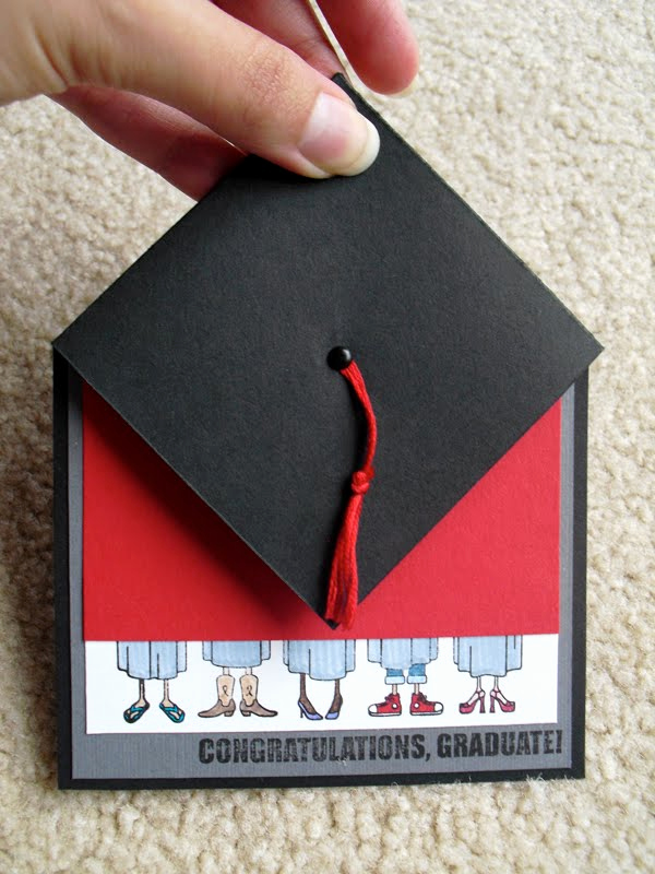 "Graduation Announcement Vs Invitation New Designs by Arielle May 16 2010 ""congrats Grad"" the Card"