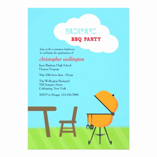 Graduation Bbq Invitation Wording Best Of Group Graduation Party Invitation Barbecue Wording