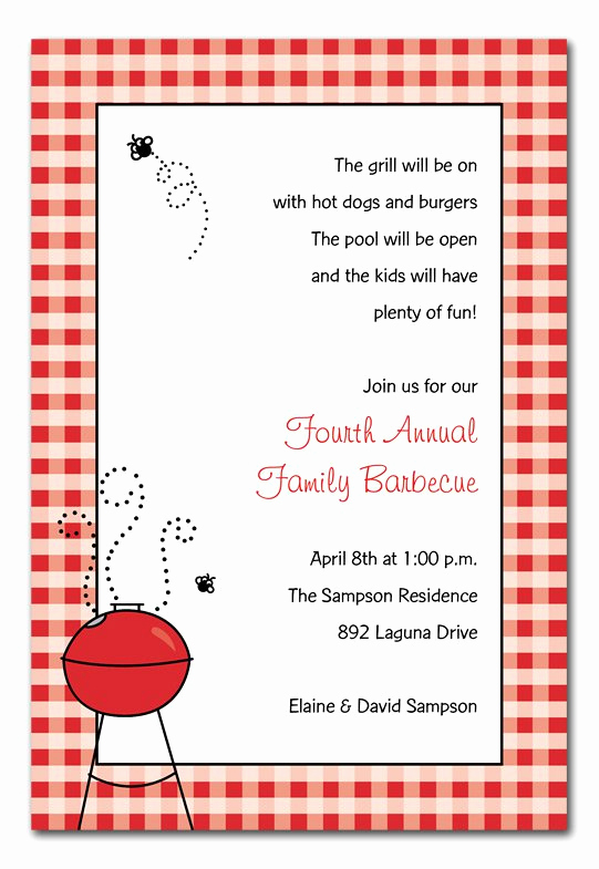 Graduation Bbq Invitation Wording Luxury Barbecue Graduation Party Invitations Wording