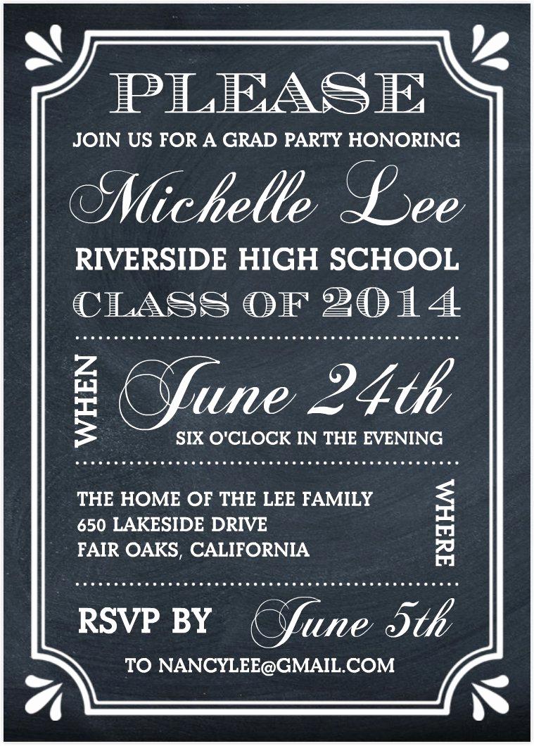Graduation Celebration Invitation Templates Elegant Graduation Party Invitations Graduation Party