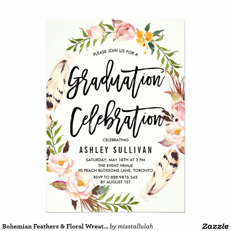 Graduation Ceremony Invitation Card New Best 25 Graduation Invitations Ideas On Pinterest