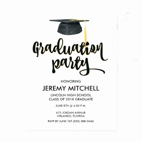 Graduation Ceremony Invitation Letter Beautiful Graduation Invitation Letter Template – Rundacity