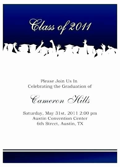 Graduation Ceremony Invitation Letter Fresh Graduation Invitation Letter Template – Rundacity