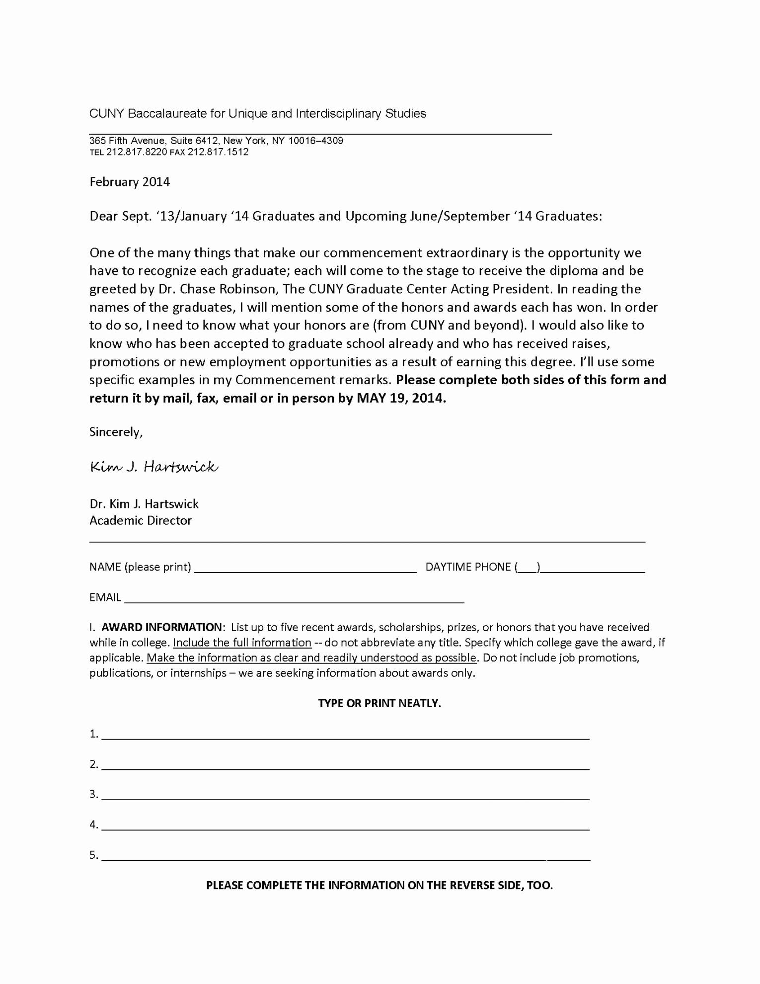 Graduation Ceremony Invitation Letter New Graduation Letter Template Dl Award Ceremony