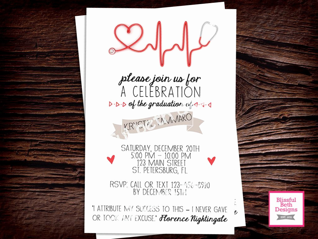 Graduation Ceremony Invitation Templates Free Lovely Nursing Pinning Ceremony Invitation Template