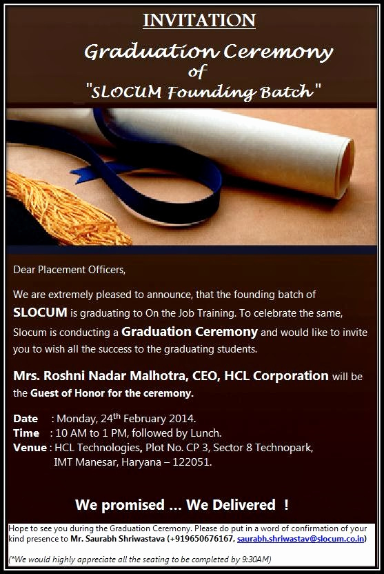 Graduation Ceremony Invitation Wording Elegant Young Engineers Program Invitation Graduation Ceremony