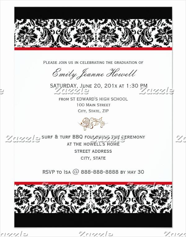 Graduation Dinner Invitation Template Fresh 40 Invitation Templates In Psd