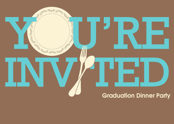 Graduation Dinner Invitation Template Inspirational Graduation Dinner Party Line Invitations & Cards by