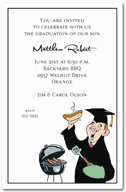 Graduation Dinner Invitation Wording Fresh Grilling Grad Party Invitation Graduation Invitation