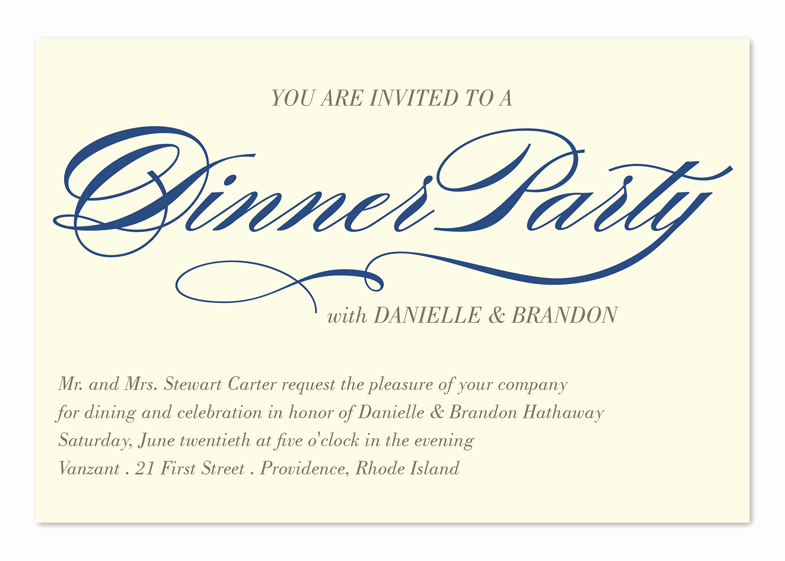 Graduation Dinner Party Invitation Wording Best Of Invited to Dinner Corporate Invitations by Invitation