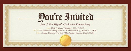 Graduation Dinner Party Invitation Wording Fresh Free Graduation Party Invitations