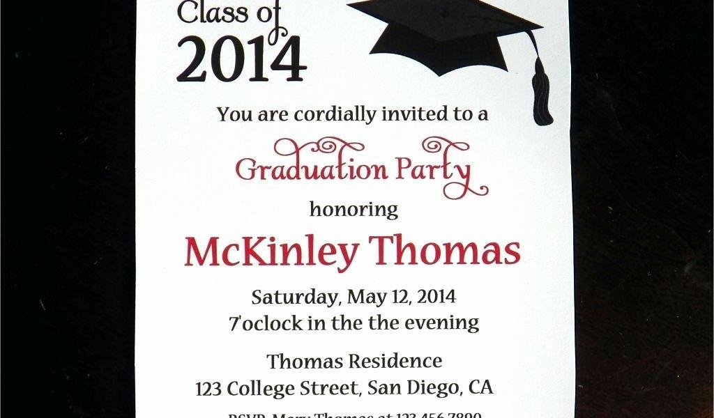 Graduation Dinner Party Invitation Wording Inspirational College Graduation Party Invitation Wording