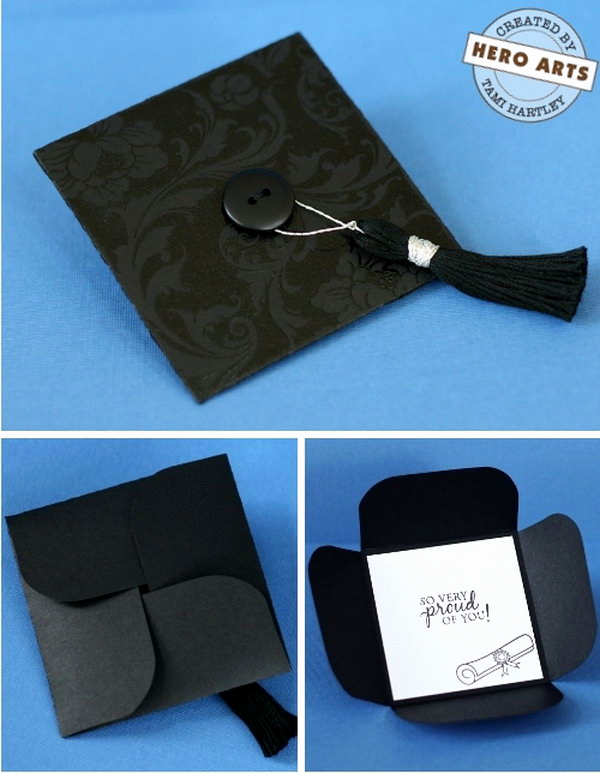 Graduation Invitation Card Ideas Elegant 25 Diy Graduation Card Ideas Hative