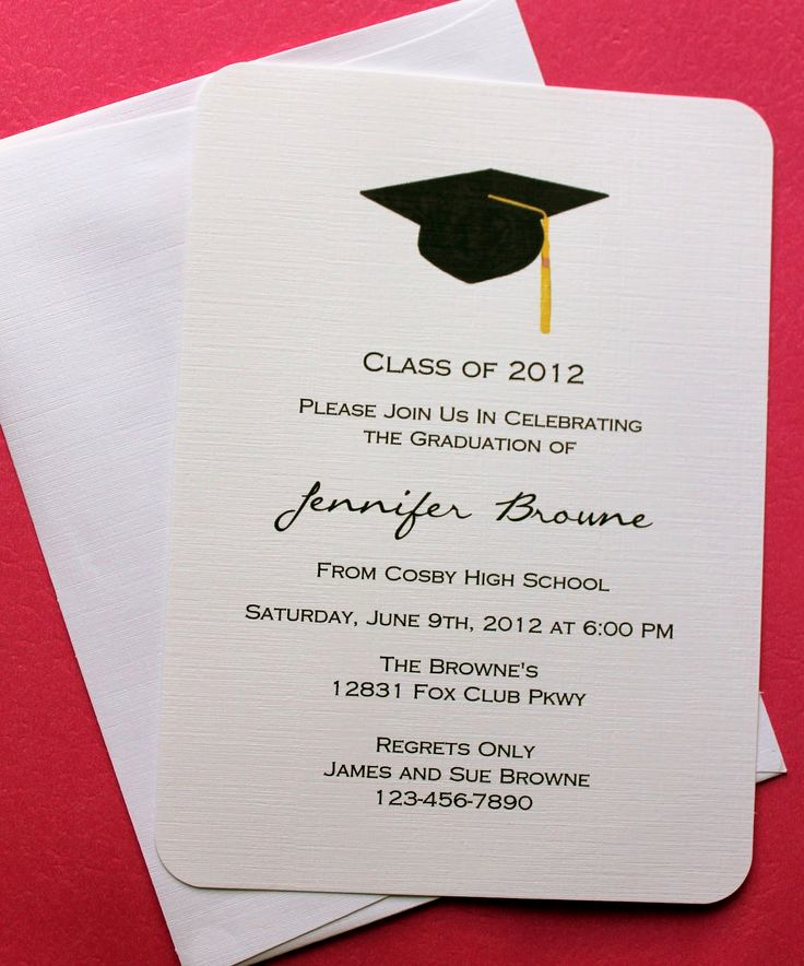 Graduation Invitation Card Ideas Elegant Collection Of Thousands Of Free Graduation Invitation