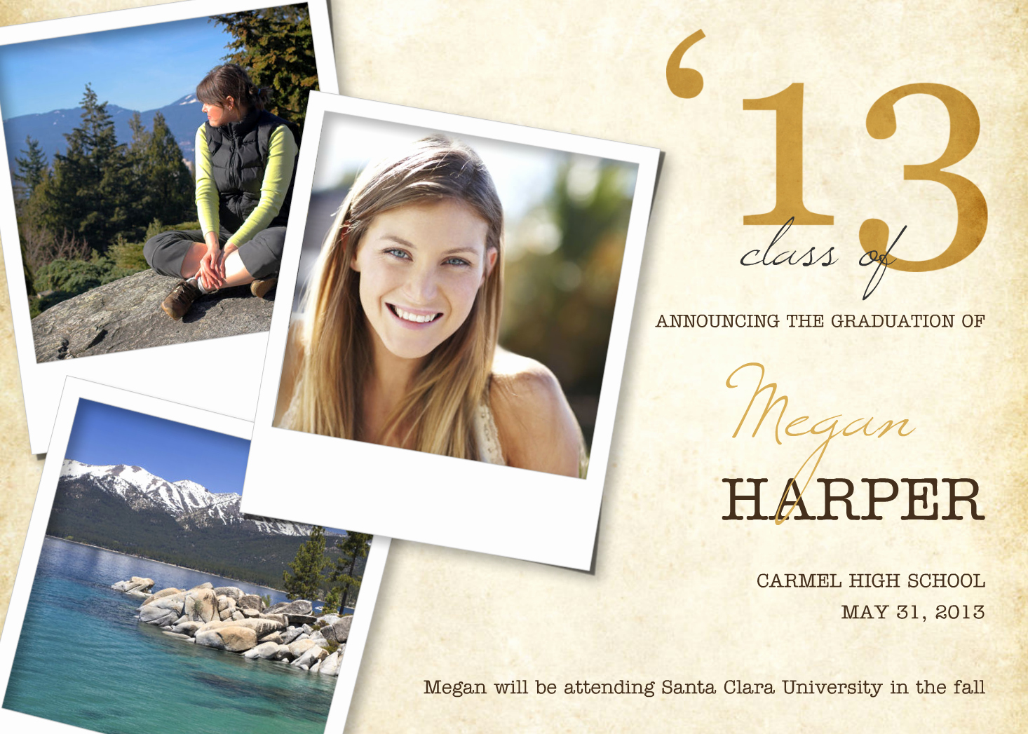 Graduation Invitation Card Ideas Lovely 5 Custom Graduation Announcement Ideas — Mixbook Inspiration