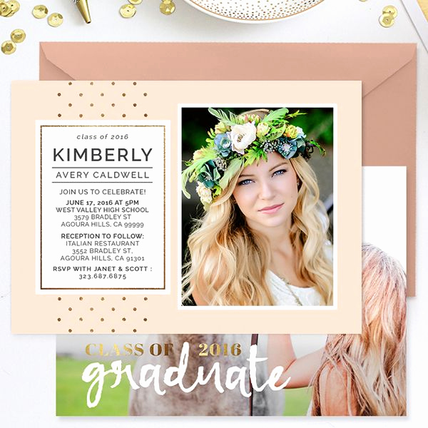 Graduation Invitation Card Template Awesome 17 Best Ideas About Graduation Celebration On Pinterest