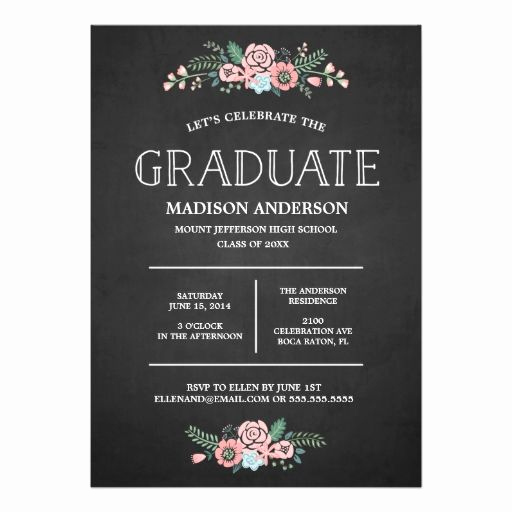 Graduation Invitation Card Template Elegant Best 25 Graduation Invitations Ideas On Pinterest