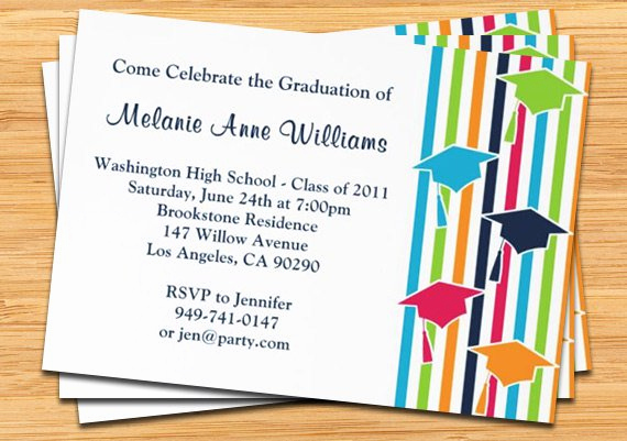 open house graduation invitations templates