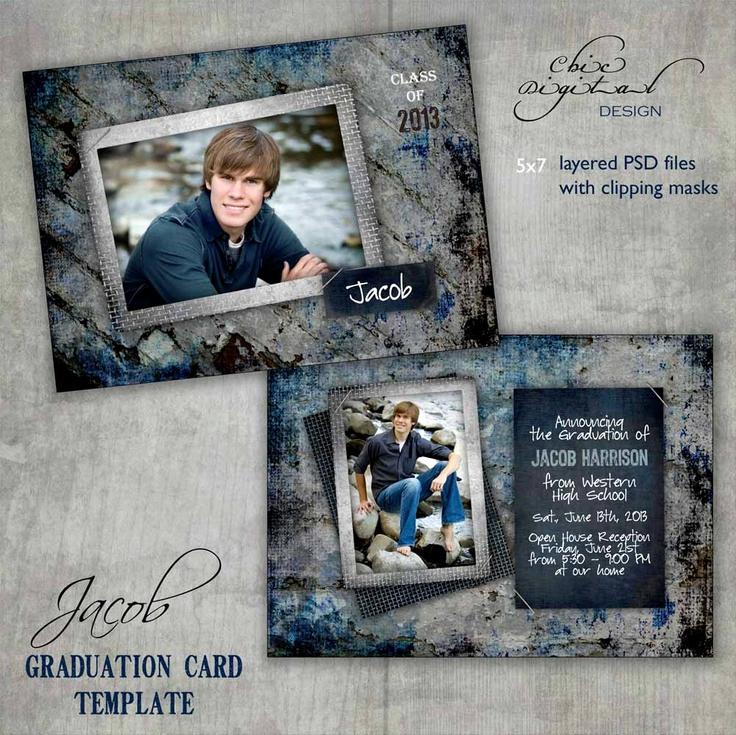 Graduation Invitation Cards Samples Inspirational Graduation Announcement Card Template Open House