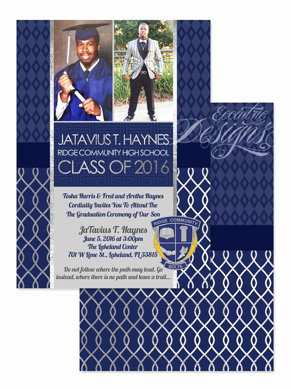 Graduation Invitation Designs Free Elegant 26 Best Graduation Invitations Images On Pinterest