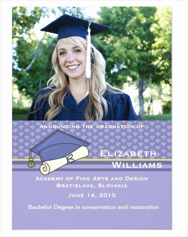 Graduation Invitation Designs Free New 49 Graduation Invitation Designs & Templates Psd Ai
