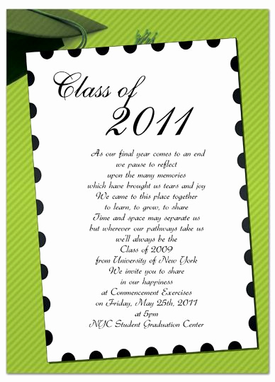 Graduation Invitation Free Templates Fresh Free Invitation Templates for Word