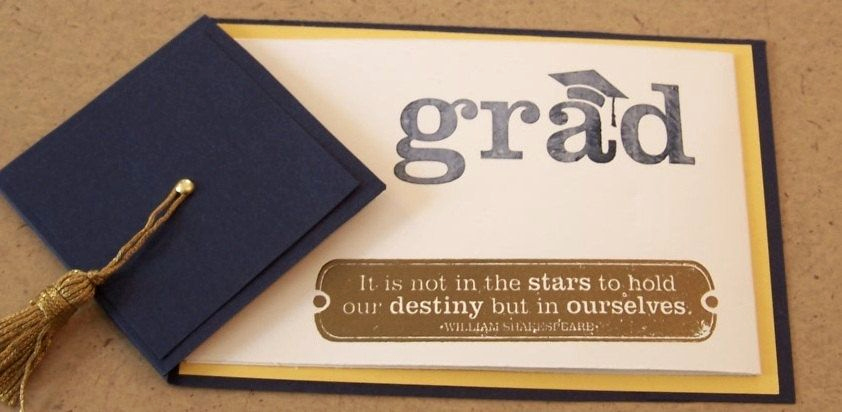 Graduation Invitation Ideas Homemade Best Of Handmade Graduation Card or Invitation or Announcement $4