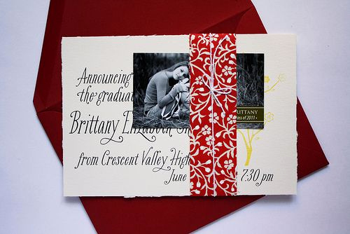 Graduation Invitation Ideas Homemade Inspirational Handmade Graduation Announcements Michael Ann Made