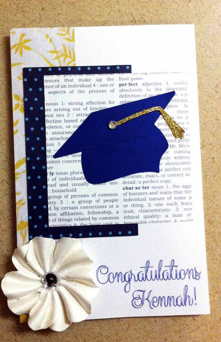 Graduation Invitation Ideas Homemade Lovely Homemade Graduation Card