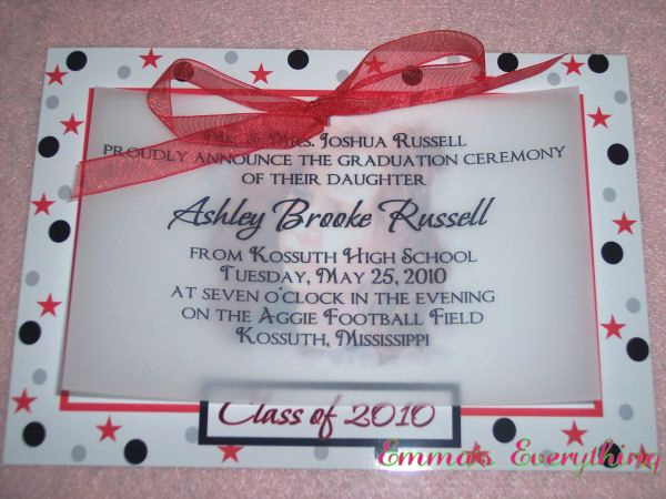 Graduation Invitation Ideas Homemade Luxury Homemade Graduation Announcements