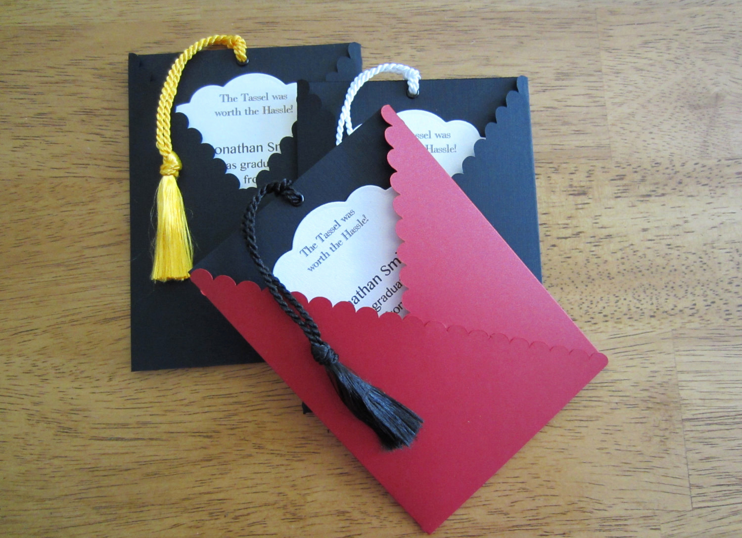 Graduation Invitation Ideas Homemade New Items Similar to Graduation Invitation Pullout Tag with